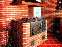 Печка для дачи из кирпича своими руками