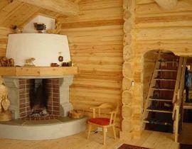 Угловые камины для дома дровяные