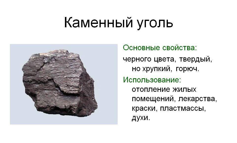 Как используют бурый уголь