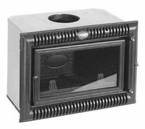 Внешний вид кассетного камина