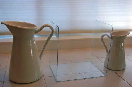 Соедененные стекла для настольного биокамина