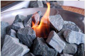 Укладываем жаропрочные камни