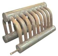 Контур водяного отопления печи буржуйки