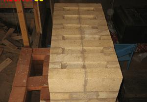 Как сделать камин из кирпича угловой