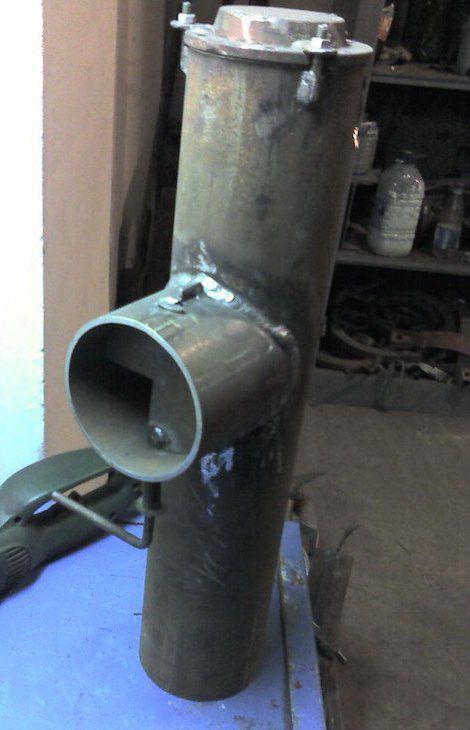 Труба для булерьяна своими руками