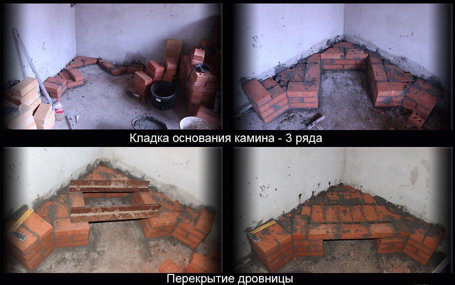 Угловой камин своими руками пошаговая инструкция видео