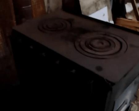 Накрываем печь варочной панелью с одной или двумя конфорками.