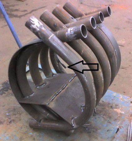 Производим монтаж конвекционных труб