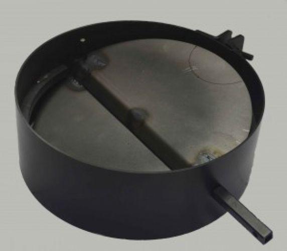 Шиберная задвижка для дымохода