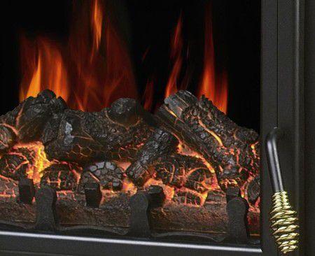 Декоративный огонь в камине