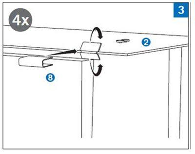 8. Ножка и резиновая прокладка