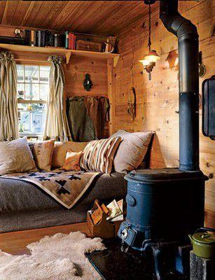 Сочетание тепла и уюта
