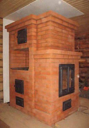 Печка камин для дачи