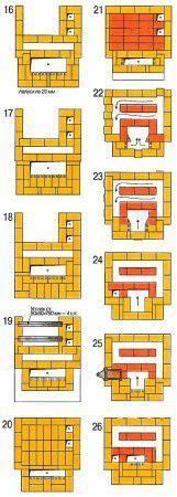 Схема кладки 2