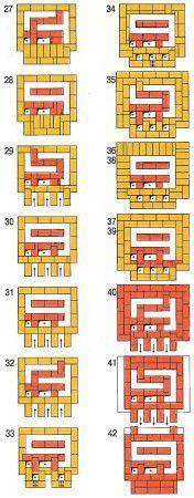 Схема кладки 3
