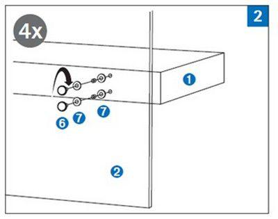 6. Болты 7. Резиновая прокладка и шайба