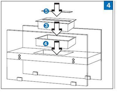 3. Топливный бак 4. Металлическая емкость, устанавливаемая под бак 5.Задвижка.