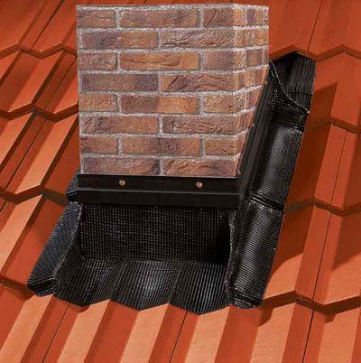 Идеальная крышная разделка дымохода