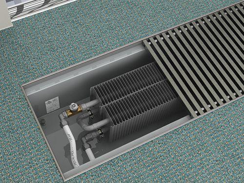 Внутрипольные конвекторы отопления водяные