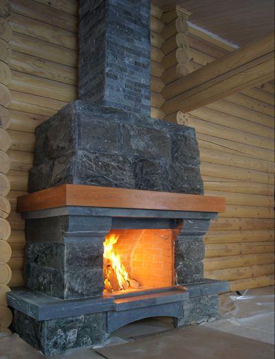 устройство дымохода в деревянном доме.