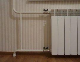Установка и подключение радиаторов отопления своими руками