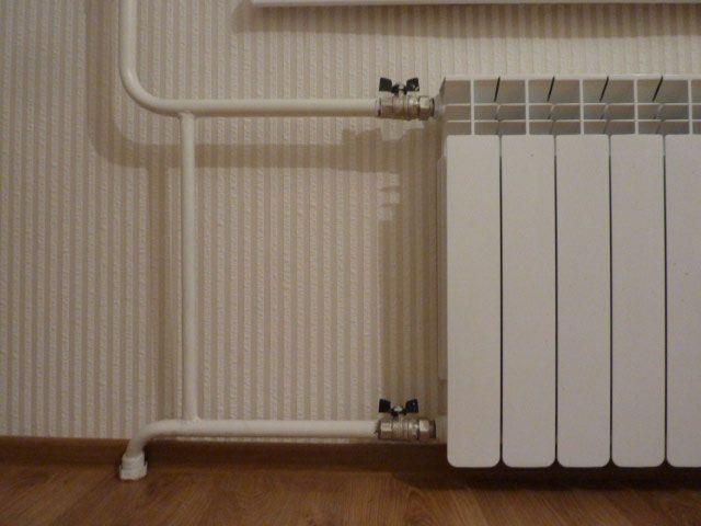 Радиаторы отопления установка своими руками