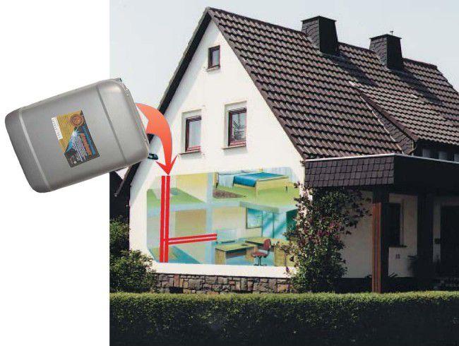 Частный дом с незамерзающей жидкостью в системе отопления