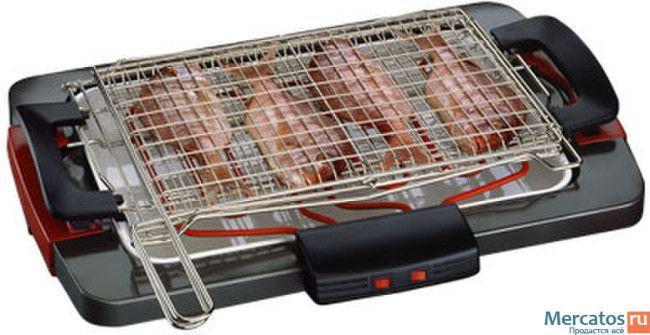 Электрический гриль барбекю