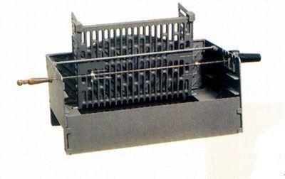 Компактная заводская модель мангала с грилем