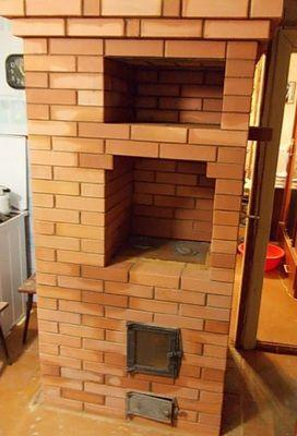 Отопительная печь на два этажа