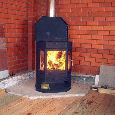 Отопительно-варочная печь длительного горения