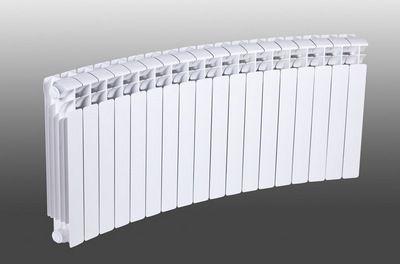 Интересная дугообразная форма батареи