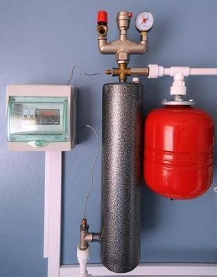 Примерная установка индукционного котла