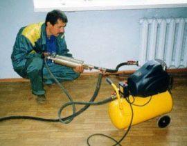 Как проводится гидропневматическая промывка системы отопления
