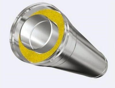 Трубы имеют надежную термоизоляцию