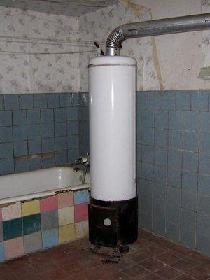 Котел-титан в ванной