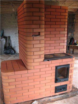 И отопление, и кухня, и просто - очень красивый элемент интерьера