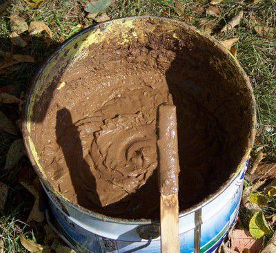 Песчано-глиняный раствор
