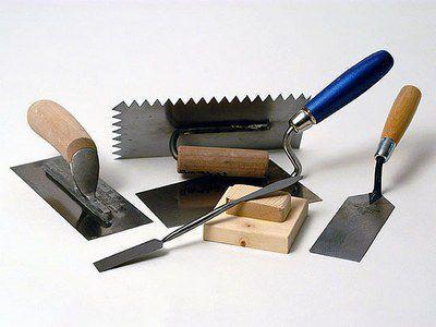 Набор инструментов для оштукатуривания печи