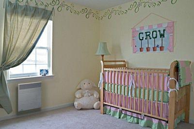 В детской комнате будет и тепло, и уютно