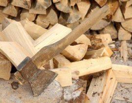 Секреты колки дров топором. Советы по изготовлению дровокола
