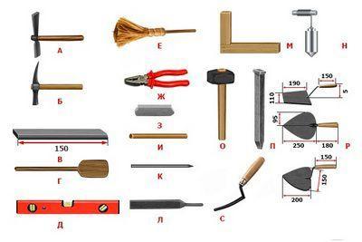 Что потребуется из инструментов?