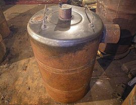 Пиролизная печь «бубафоня» своими руками: схема, чертеж и пошаговая инструкция