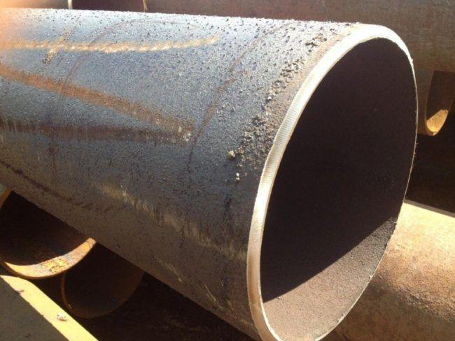 Толстостенная стальная труба
