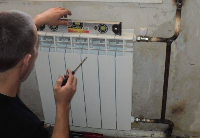 Проверка корректности установки батареи