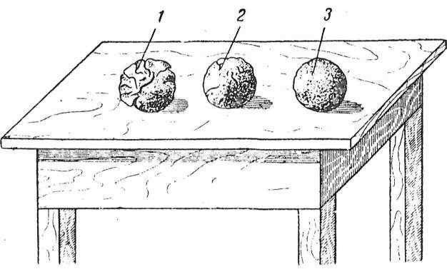 Проверка качества глиняно-песчаного раствора на примере шара