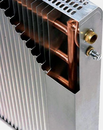 Медный сердечник биметаллического радиатора