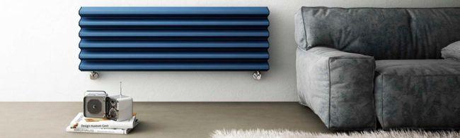 Современные радиаторы могут иметь самый причудливый дизайн