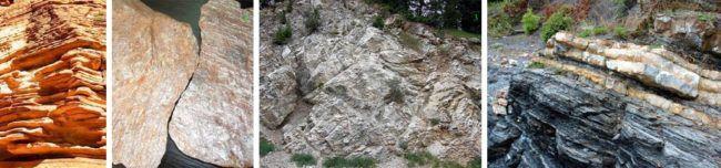 Внешний вид глинистого сланца