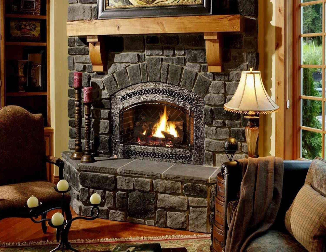 Как построить своими руками дровяной камин для дома, простая технология 71